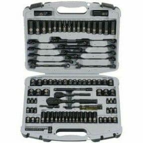 stanley black chrome socket set review