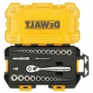 DEWALT DWMT73804 Drive Socket Set 34 Piece