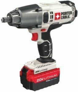 PORTER-CABLE PCC740LA 1 2 Cordless Impact Wrench