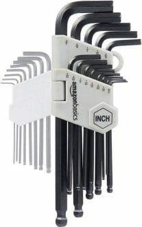 Amazon Basics Allen Wrench Set