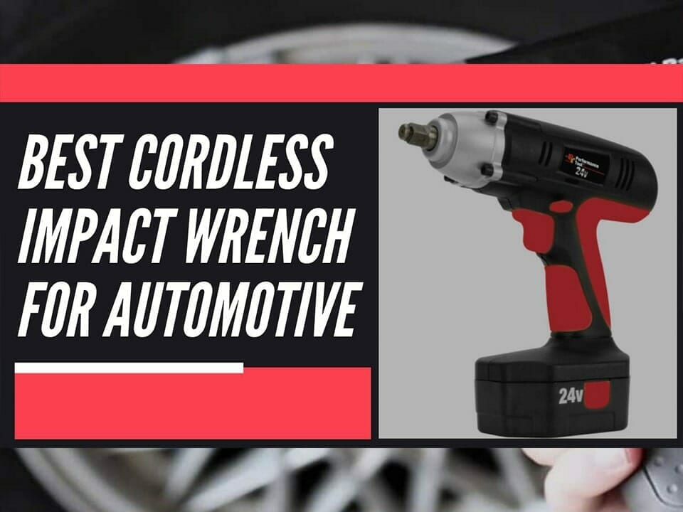 best cordless impact wrench for automotive