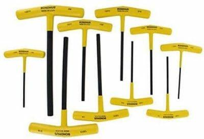 Bondhus Set of 10 Hex T-handles