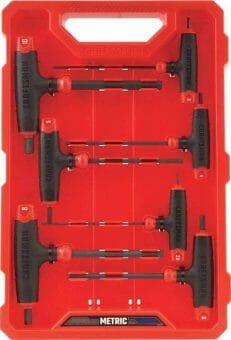 CRAFTSMAN T-Handle Allen Wrench Set, 14-Key.