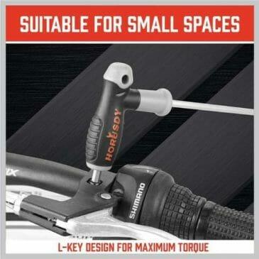 HORUSDY 18-Piece T-Handle allen wrench set