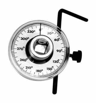 Performance Tool Drive Torque Angle Gauge