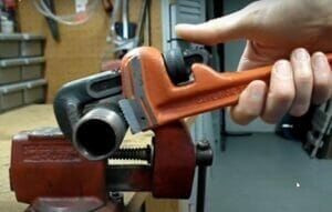 Pipe-Wrench- jaw size