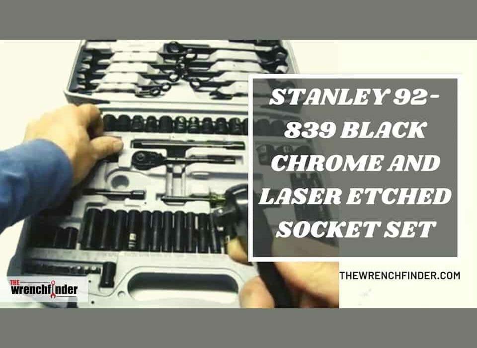 stanley socket set review