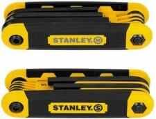 Stanley Folding Metric and Sae Hex Keys