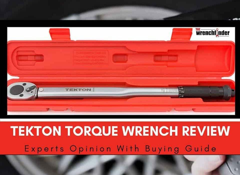 tekton torque wrench review